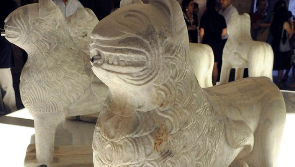 Vuelven los leones a la Alhambra
