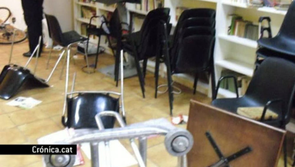 Un torero ataca la sede de ERC en Barcelona