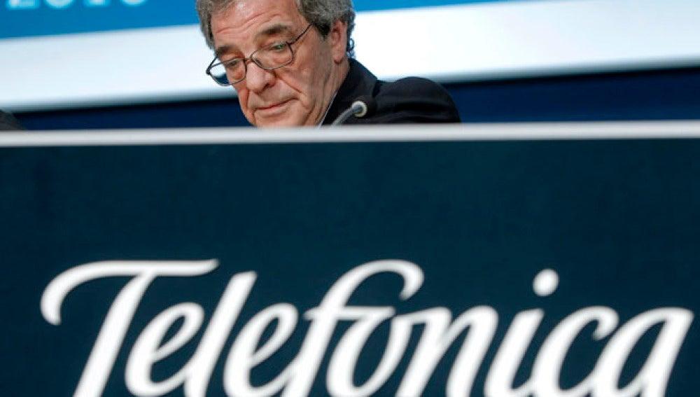 Telefónica gana 3.775 millones de euros hasta junio