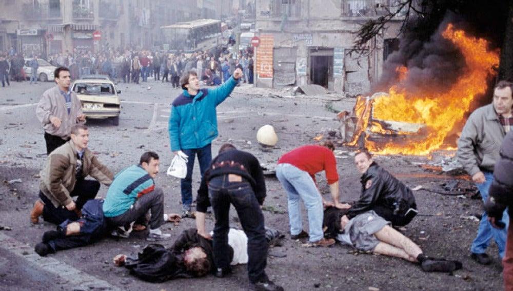 El atentado de Vallecas, perpetrado por ETA en 1995
