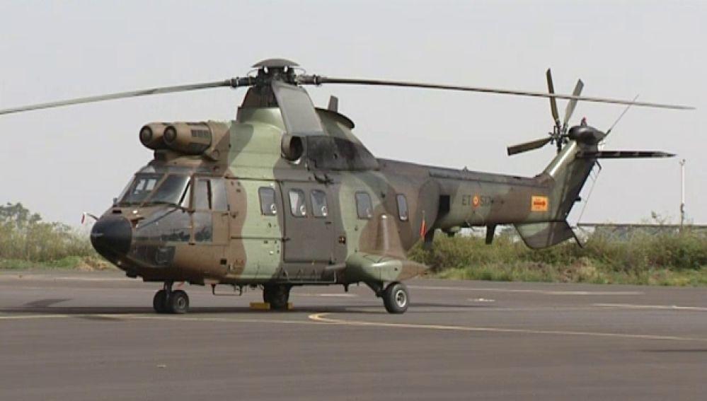 Helicóptero militar español