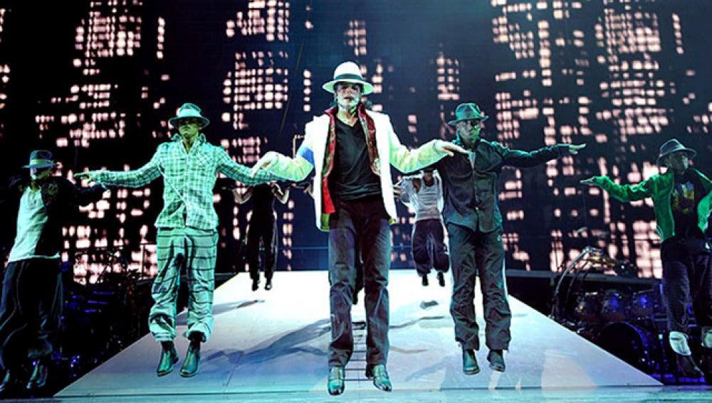 Michael Jackson en su película 'This is it'