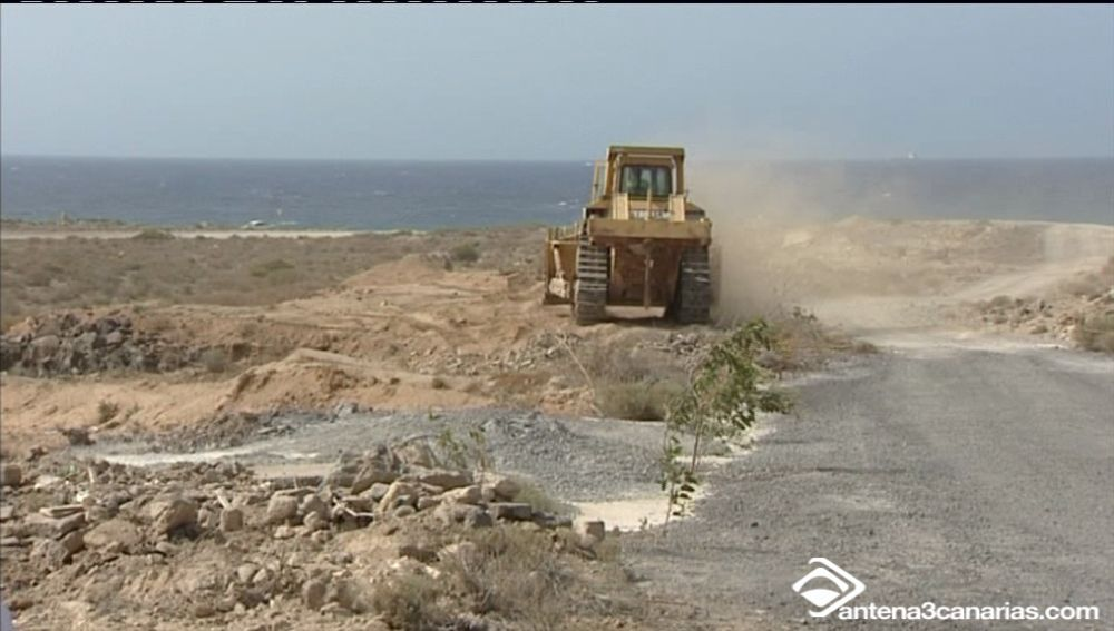 La Construcción del Puerto de Granadilla ya está en marcha.