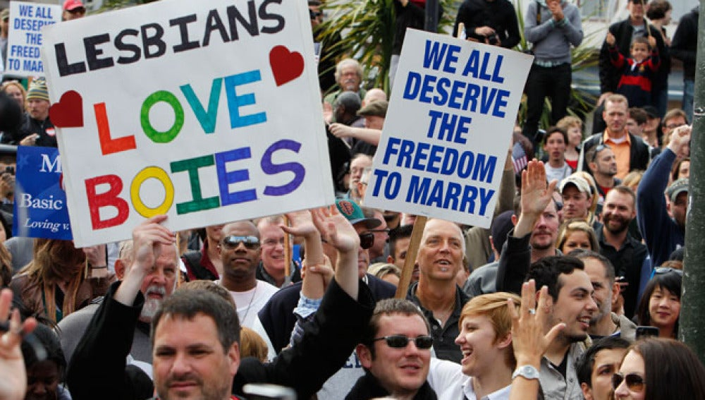 Por la boda gay en California