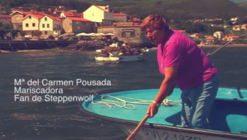 Mª Carmen Pousada, fan de Steppenwolf