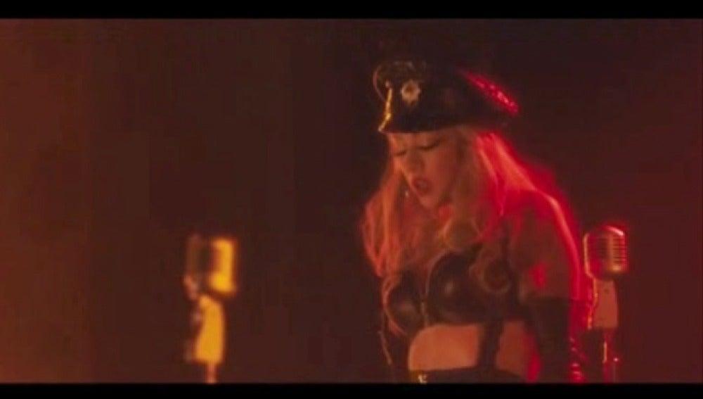Cristina Aguilera debuta en la gran pantalla con Burlesque