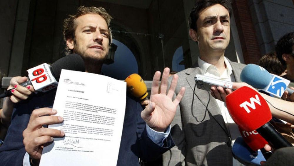 """Los controladores aéreos piden a Blanco que les reciba """"al menos 30 minutos"""""""