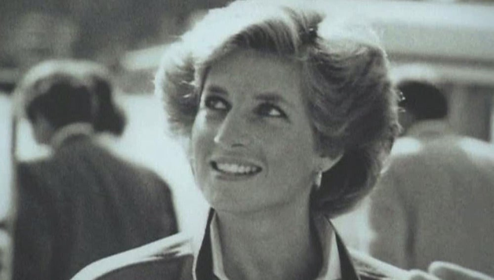Diana de Gales en Heathrow