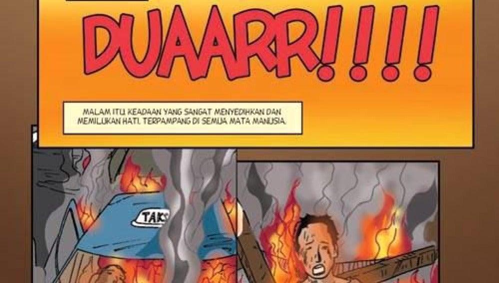 Cómic contra el terrorismo en Indonesia
