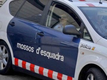 Un coche de los Mossos d'Esquadra, en un suceso