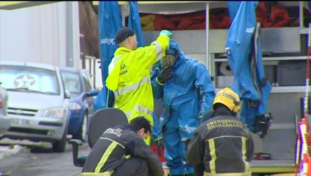 Un derrame de productos tóxicos en El Goro hace saltar todas las alarmas