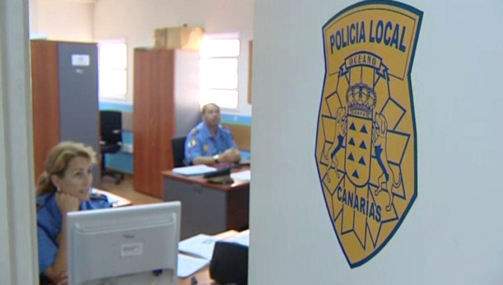 Policias La Laguna