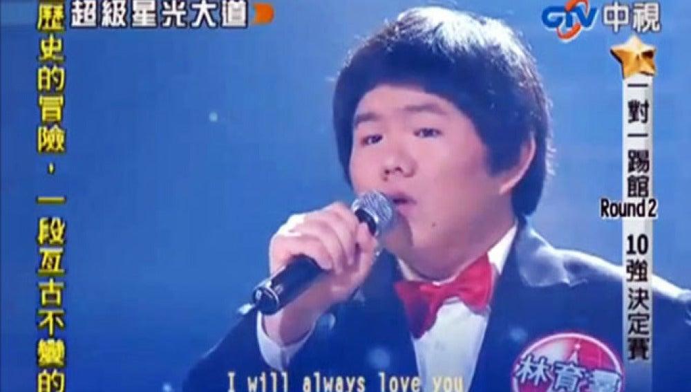 El chino 'Susan Boyle'