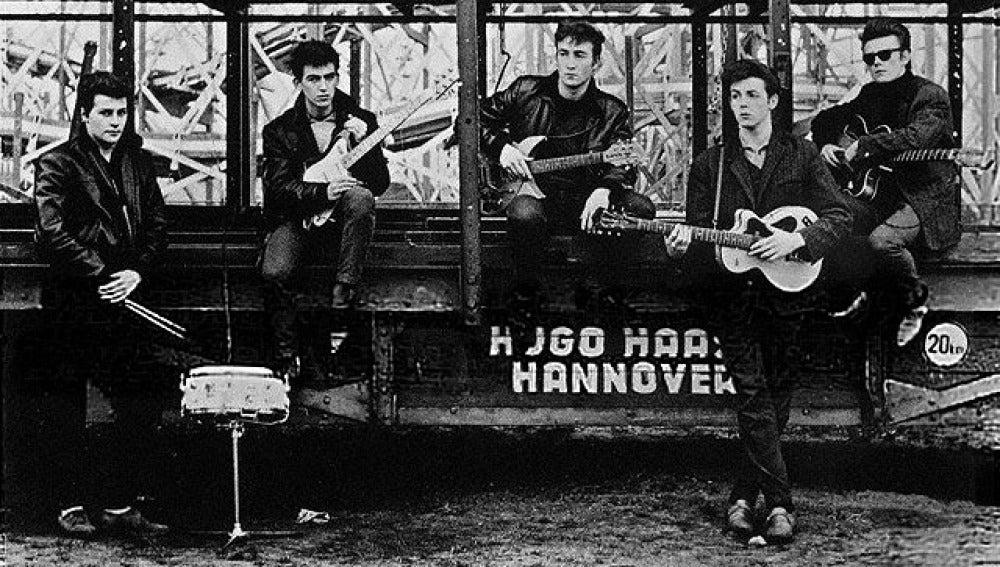 Los Beatles en Hannover en 1960