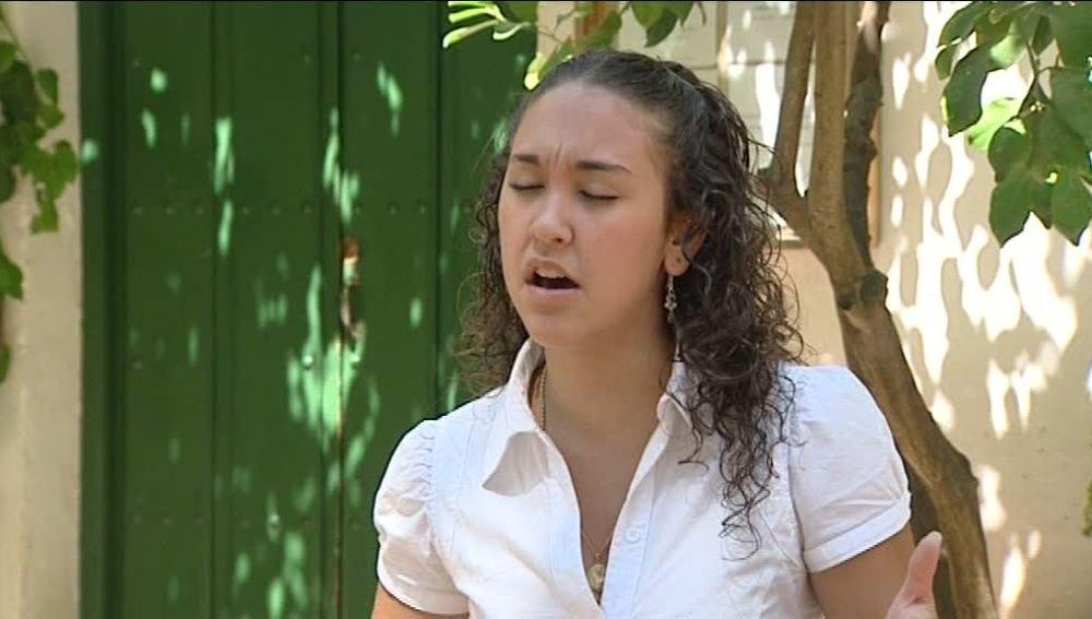 Ana Mochón, cantaora de flamenco