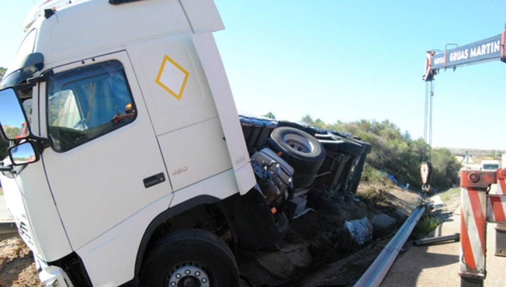 El peligro de conducir un camión