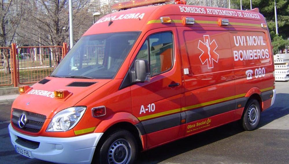 Un coche de bomberos en un suceso (Archivo)