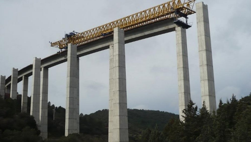 Construcción de la A-4 en Despeñaperros
