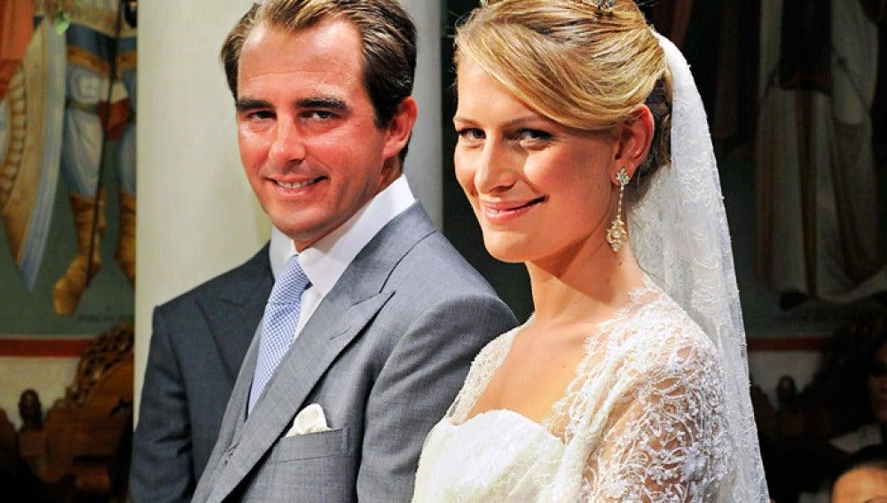 Nicolás de Grecia y Tatiana Blatnik