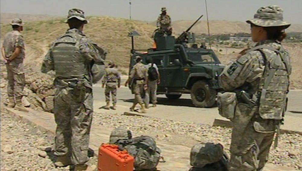 Tropas españolas en Afganistán