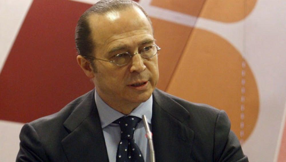 El presidente de Iberia, Antonio Vázquez