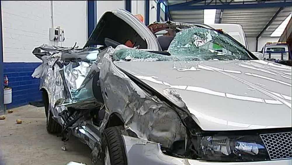 Accidentes en las carreteras