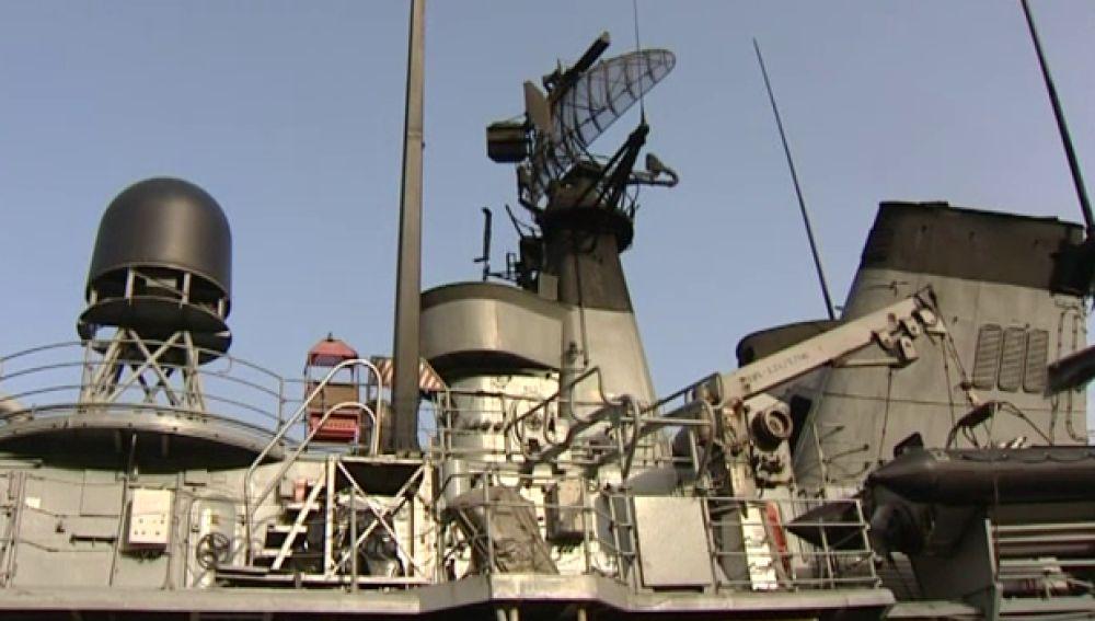 Barco de la Armada española