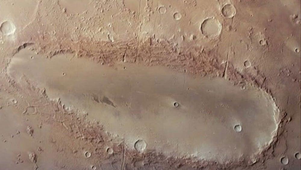 Imagen de la sonda Mars Express