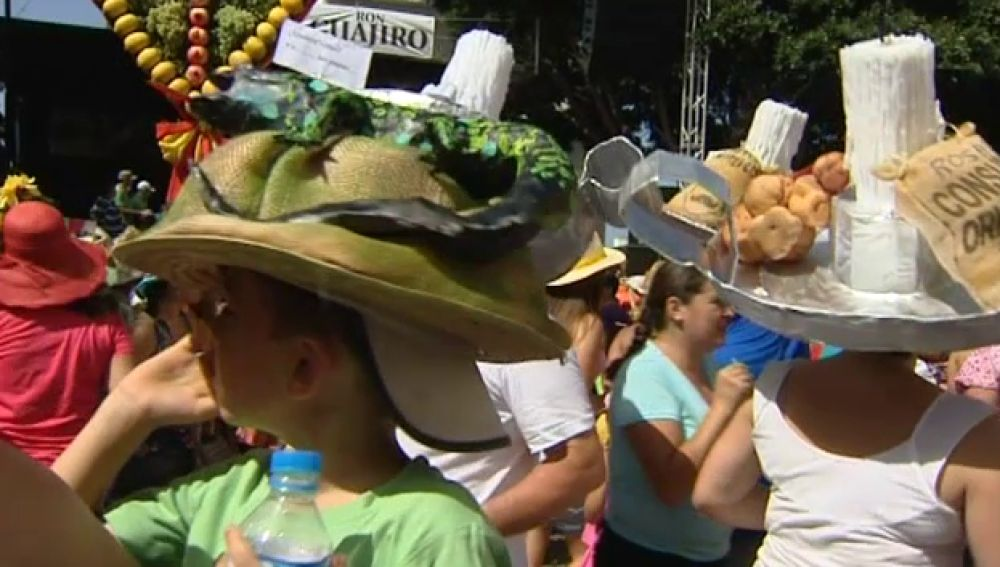 Fiesta de las pamelas en Tejina, Tenerife