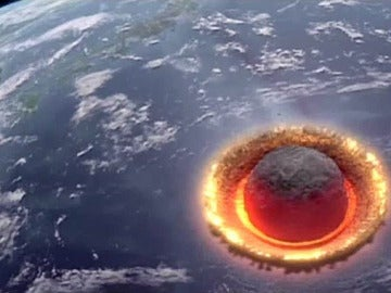 Choque del meteorito Ceres