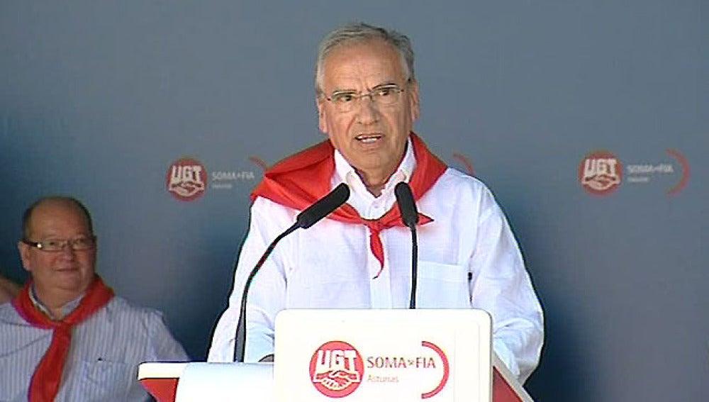 Alfonso Guerra disculpa al Presidente