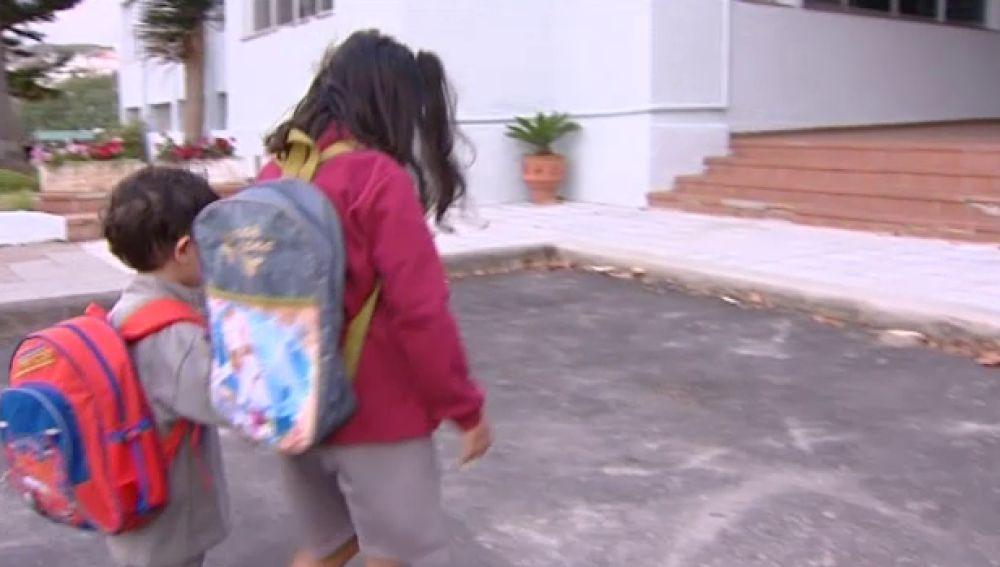 Comienzo del curso en infantil y primaria