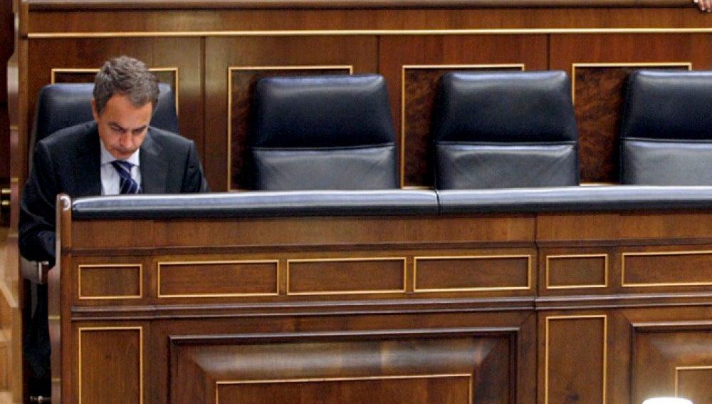 Zapatero en el Congreso