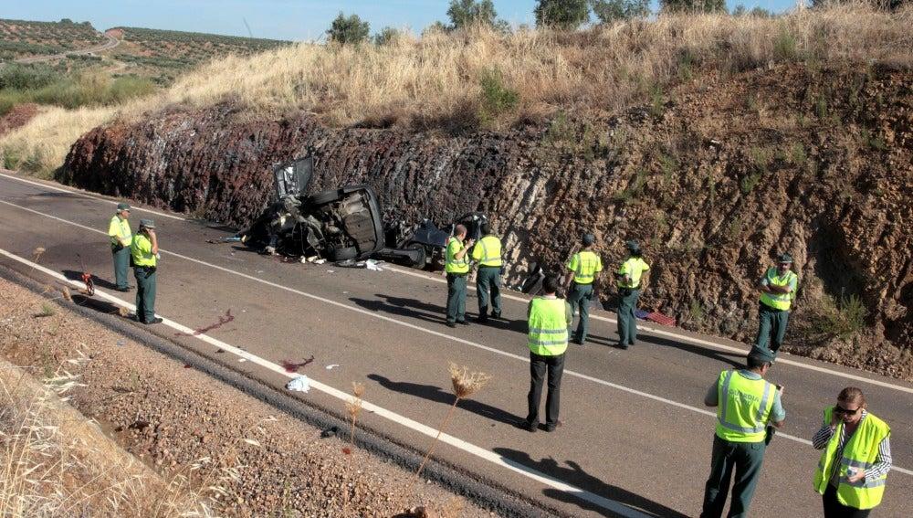 Los coches del accidente son un BMV y un C5