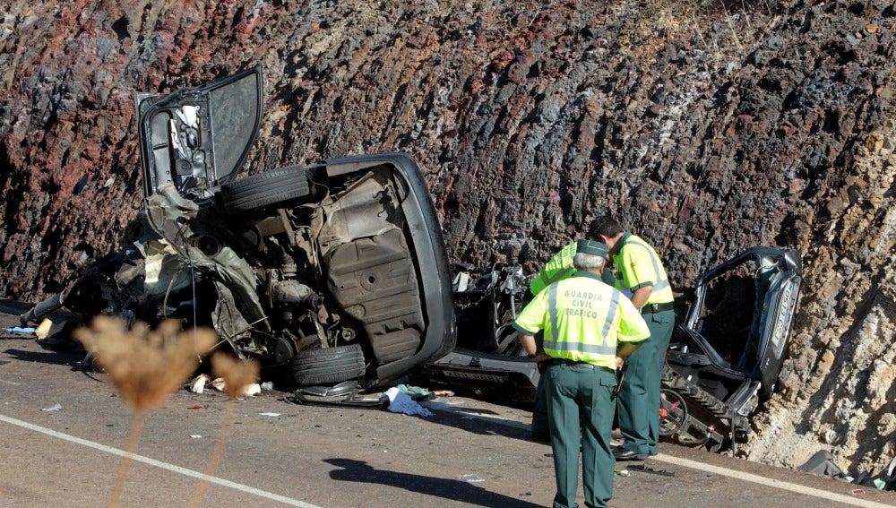 Accidente mortal en Oliva de Mérida
