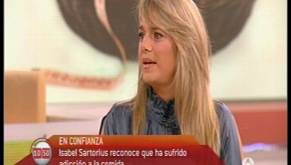 Isabel Sartorius, comer emocional
