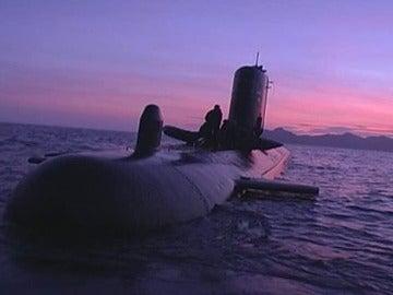 Imagen de archivo de un submarino