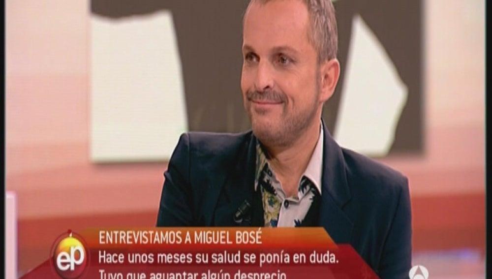 Miguel Bosé en Espejo