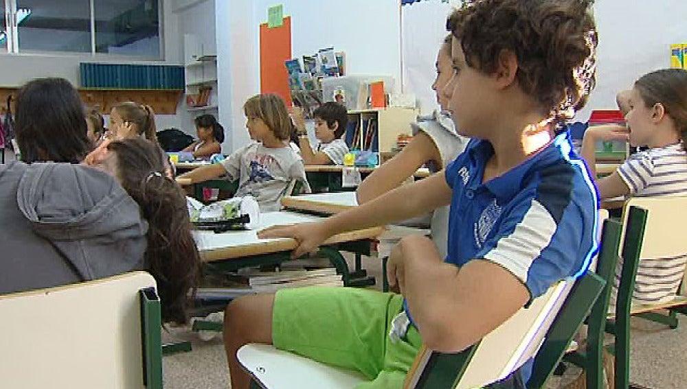 Malas posturas en clase