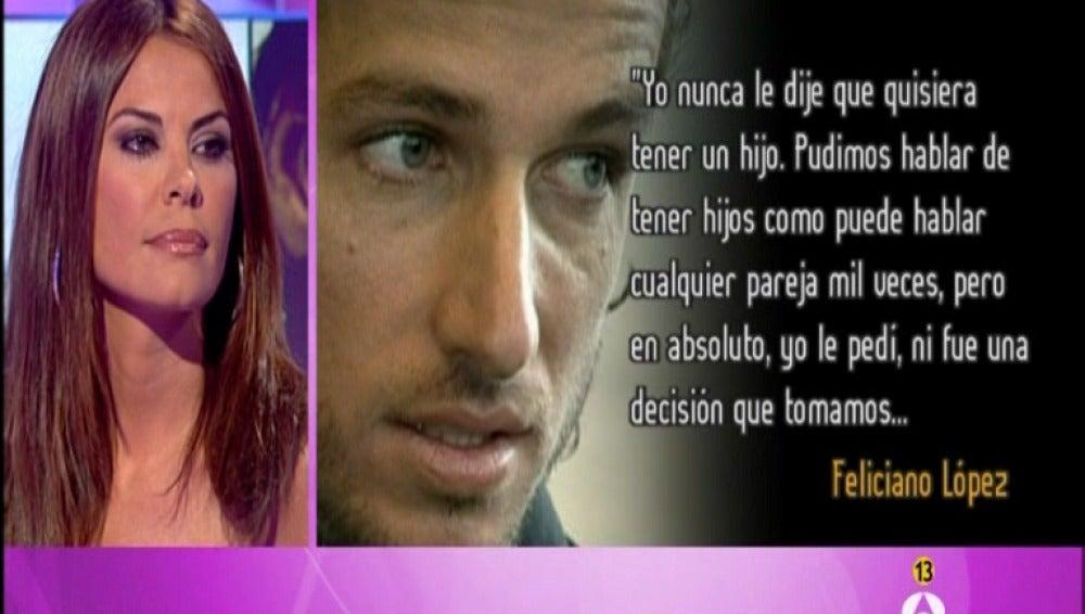 María José Suárez responde a FelicianoMaría José Suárez responde a Feliciano