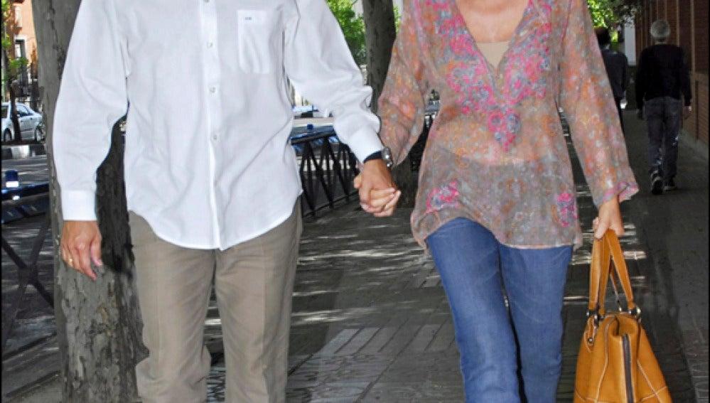 Lydia Bosch y Alberto Martín