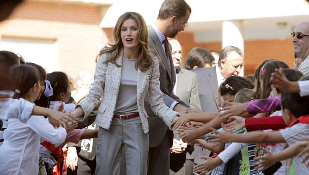 Los Príncipes abren el curso escolar en La Rioja