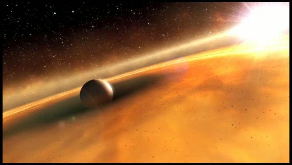 Como se vería el sistema solar, por científicos Alienígenas