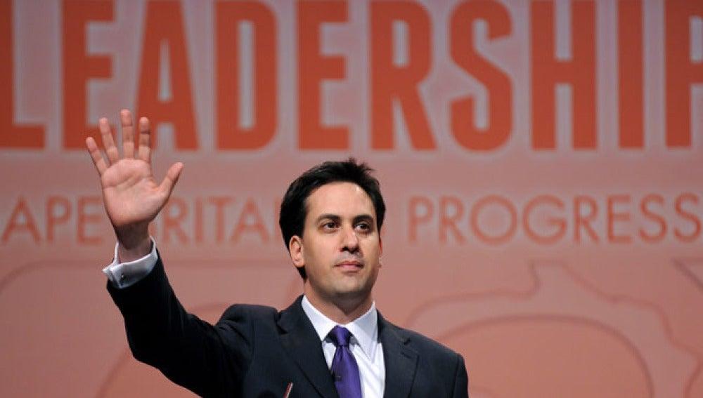 Ed Miliband, líder del Partido Laborista británico