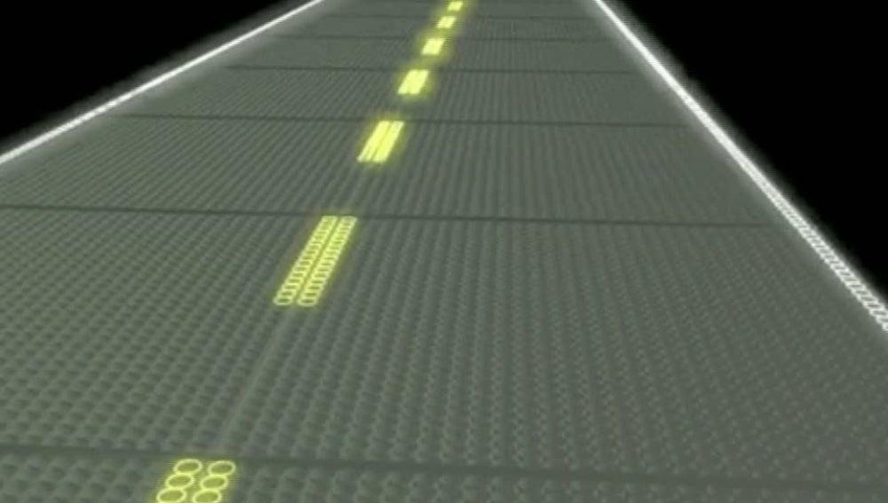 Carreteras que producen electricidad