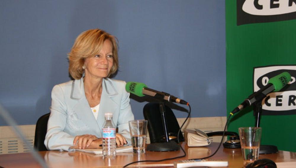 Elena Salgado en Onda Cero