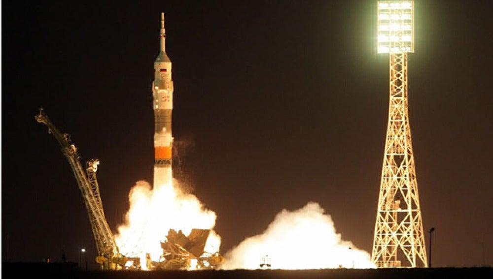 Despegue de la Soyuz