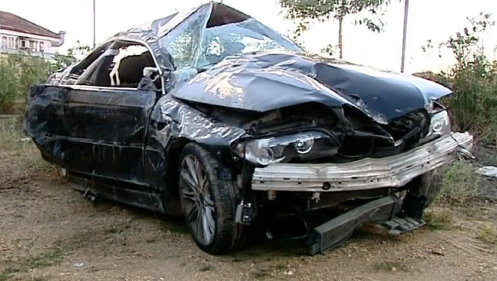 Tres jóvenes mueren en un accidente en Huelva