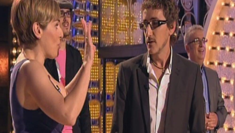 "Anabel Alonso y David Fernández, ""Chikilicuatre"""