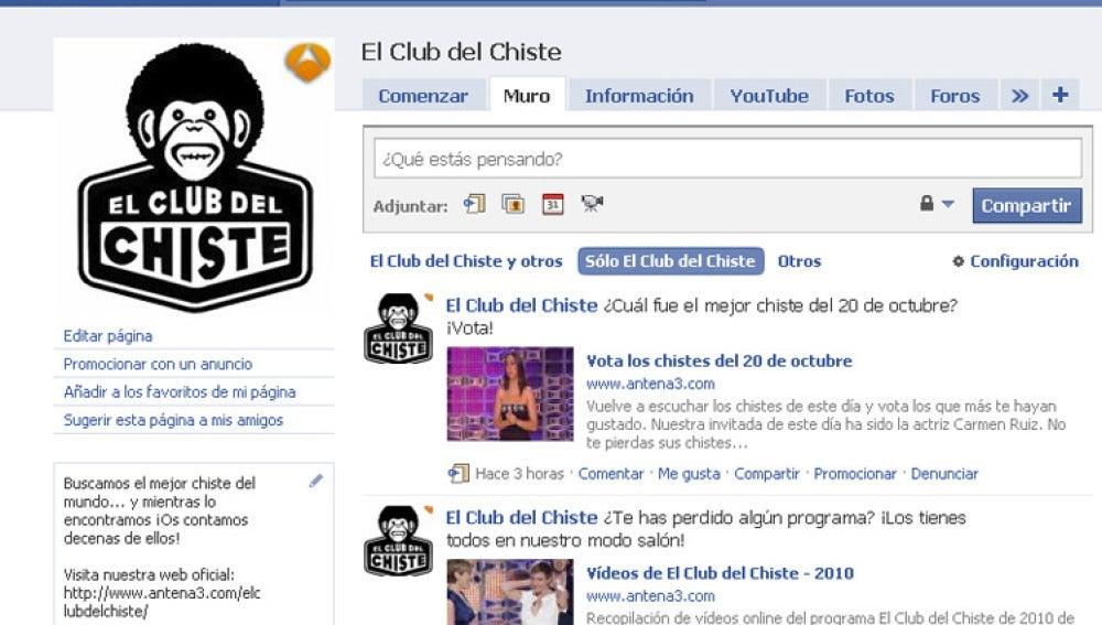 El Club del Chiste aterriza en las redes sociales
